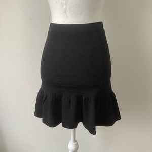Parker black body con skirt